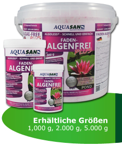 AQUASAN POND ALGOLESS Faden-Algenfrei PLUS